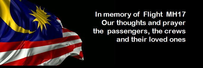 In memory of flight MH17
